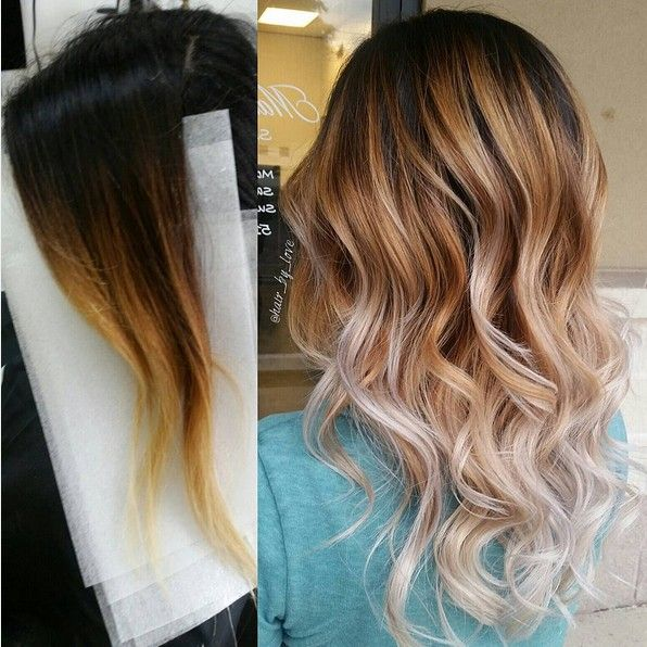 1000+ Images About Best Balayage Hair Color On Pinterest