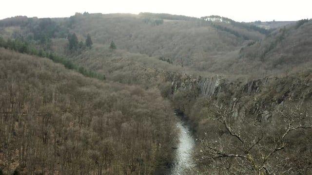 Promenade dans les paysages mystérieux de la Haute Ardenne.