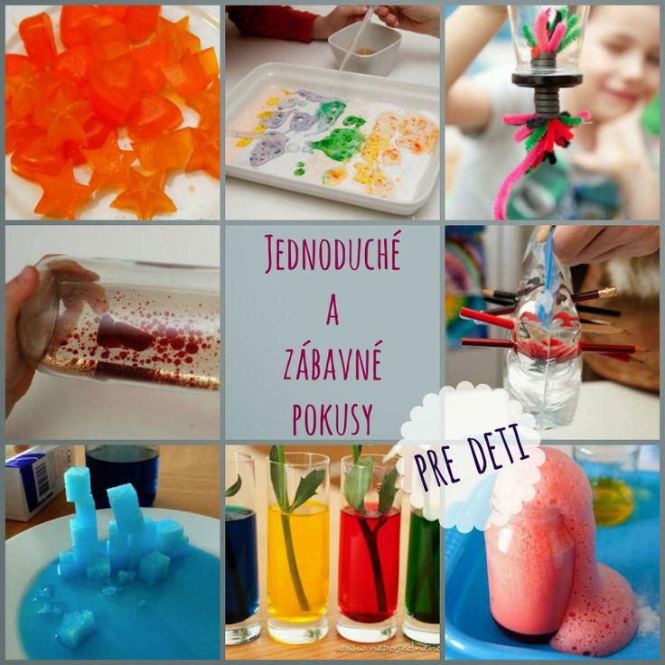 Jednoduché a zábavné pokusy pre deti | Neposedné nožnice