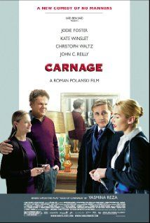 Christoph Waltz is brilliant. John C. Reilly is reliant, as always. Kate Winslet could have done with a meatier role and Jodie Foster got a role too meaty for her. Quite good, overall.