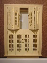 Louvered Shutters Interior Shutters And Shutters On Pinterest