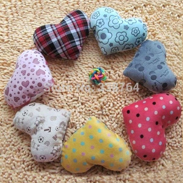Pets Love Pillow,Dog Toys,Dogs Kennel Accessories Small Pillows Cats Plush Soft