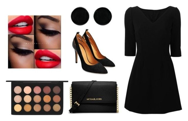 """""""Elegant look With MAC cosmetics"""" by dadacookie on Polyvore featuring Dolce&Gabbana, MAC Cosmetics, MICHAEL Michael Kors and AeraVida"""