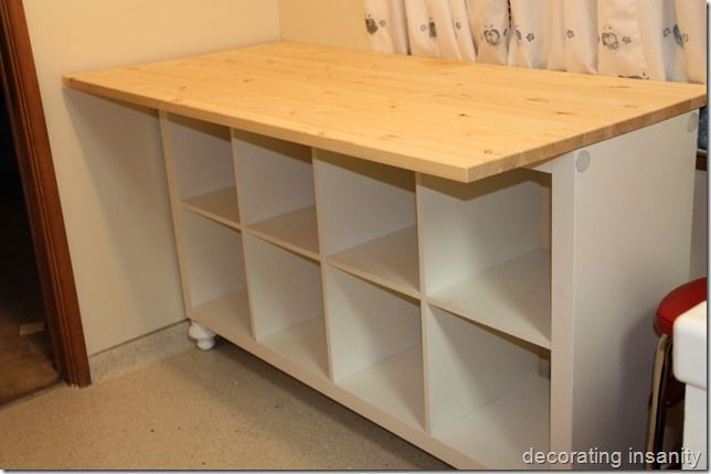 Tutorials Ikea Expedit And Diy And Crafts On Pinterest