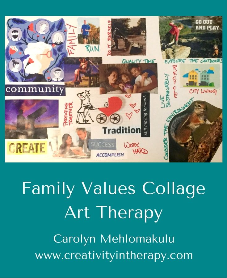 150 best art therapy ideas images on pinterest art therapy art family values collage in art therapy creativity in therapy carolyn mehlomakulu art therapy solutioingenieria Image collections