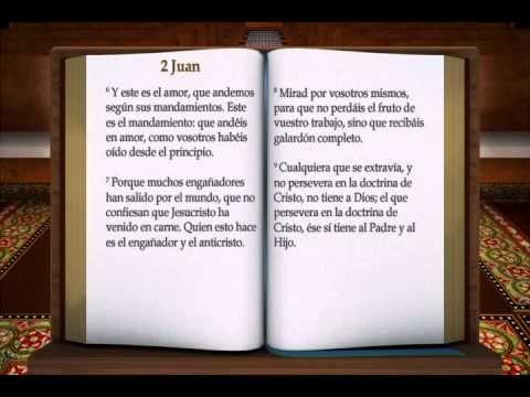 "LA BIBLIA "" 2 JUAN "" COMPLETO REINA VALERA NUEVO TESTAMENTO - YouTube"