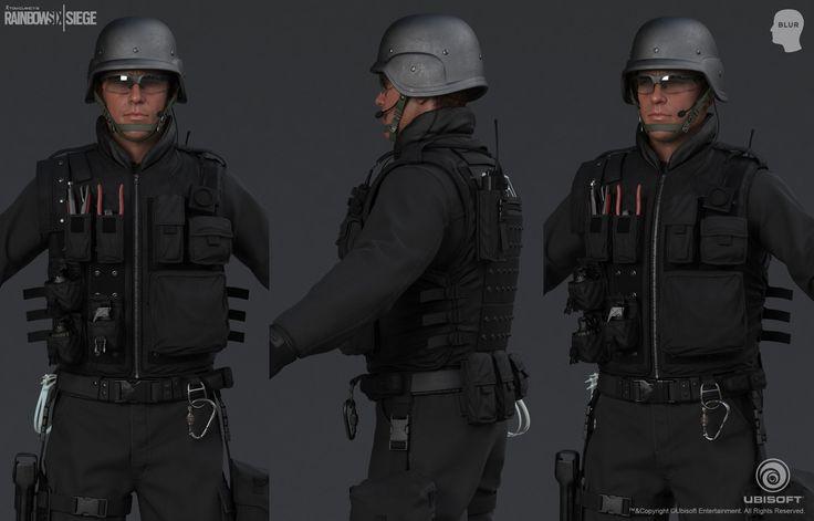 ArtStation - Tom Clancy's Rainbow Six Siege Cinematic SWAT, Mohamed Abdelfatah