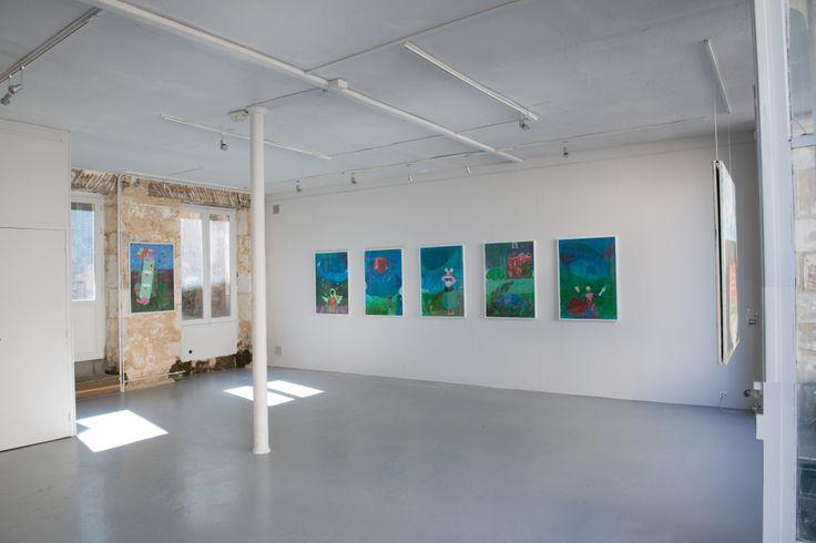 Exposition de Corinne Jullien Label Friche 2016 Photo Raphaële Kriegel http://www.photographe-tableau-paris.com/