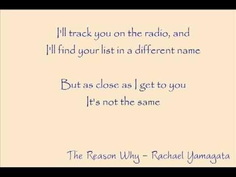 "Rachel Yamagata ""Reason Why"" live on Indie 103 - YouTube"