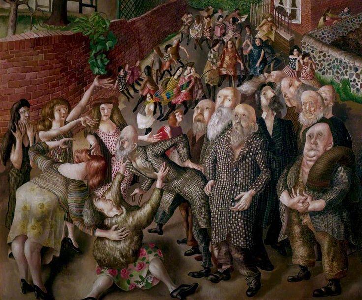 Sir Stanley Spencer, Adoration of Old Men, 1937