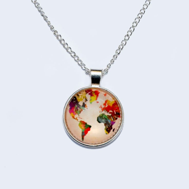 If You're Mappy and You Know It | Necklace – comuse