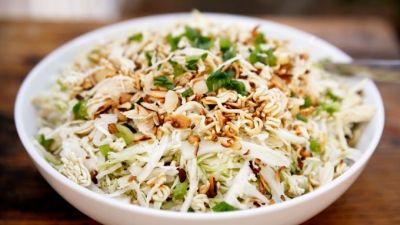 ქათმის სალათი ქართულად