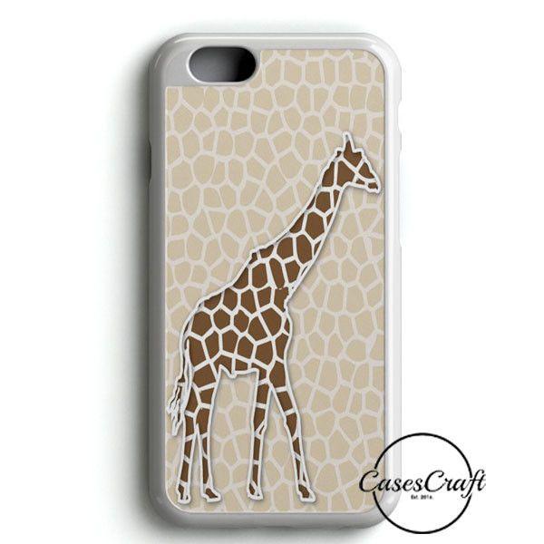 Giraffe Background Pattern iPhone 6/6S Case | casescraft