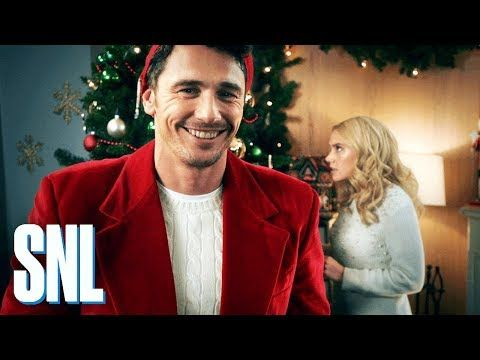 Cut for Time: Hallmark Channel Christmas Promo (James Franco) - SNL - YouTube