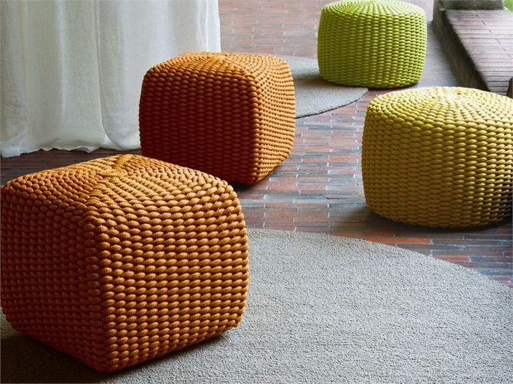 24 best images about poef poufs stool kruk on pinterest gothic design and patricia urquiola - Zachte pouf ...
