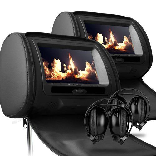 Sonic Audio HR-7 - 2 x 7`` Black Leather-Style Car DVD/Multimedia Headrests with 2 x IR Infrared Headphones No description (Barcode EAN = 0197994049853). http://www.comparestoreprices.co.uk/december-2016-3/sonic-audio-hr-7--2-x-7-black-leather-style-car-dvd-multimedia-headrests-with-2-x-ir-infrared-headphones.asp