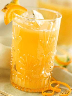 This chilled fruity tea is delicious at brunch or summer parties.