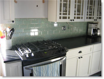 green glass tiles kitchen more coke bottle green subway tile home design 3989