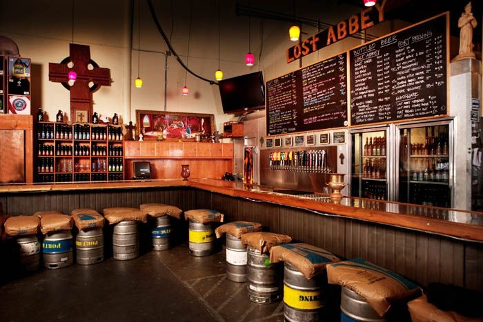 San Marcos: The Lost Abbey & Port Brewing's tasting room belongs on every beer tourist's agenda.