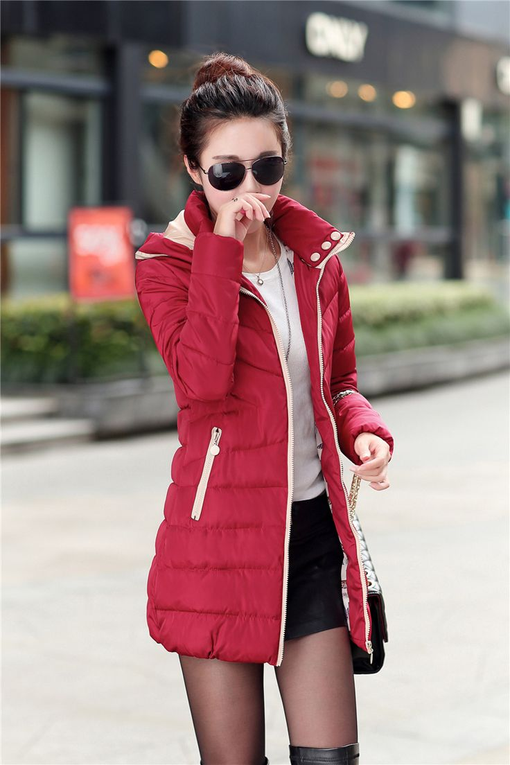 Awesome MOGE black long winter jacket women warm fashion winter coat doudoune femme jaqueta feminina casacos de inverno feminino