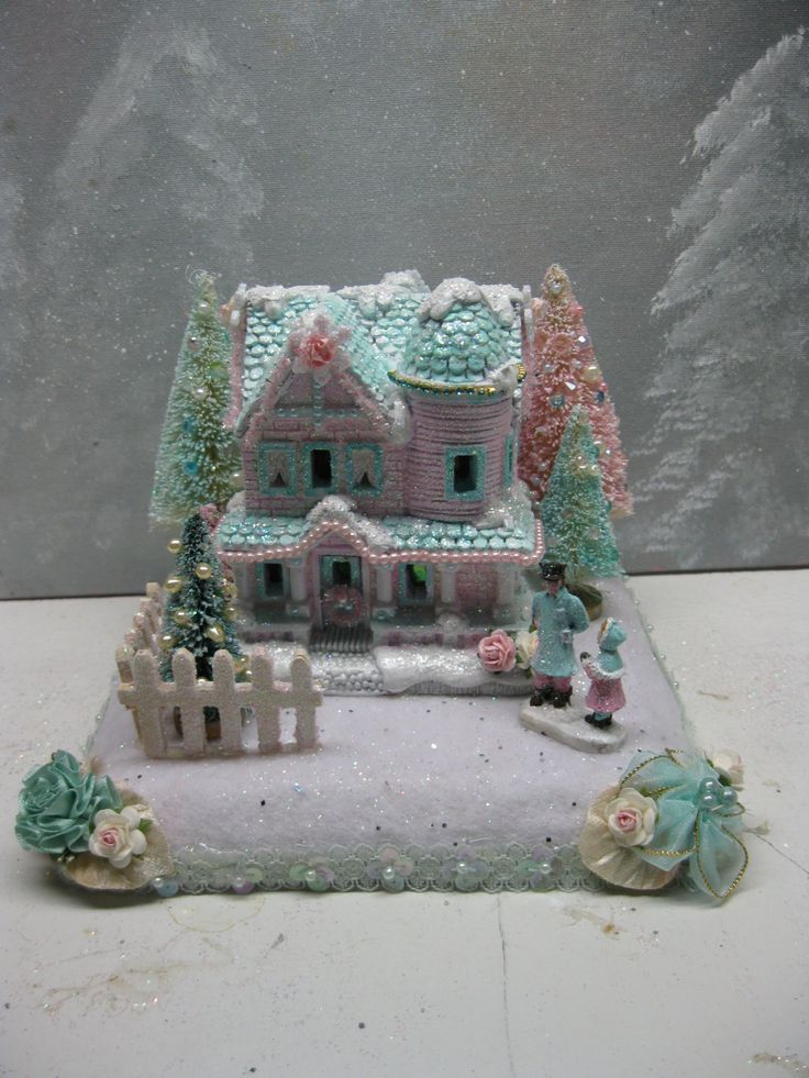 17 Best Afbeeldingen Over Christmas Villages Op Pinterest Kerstbomen