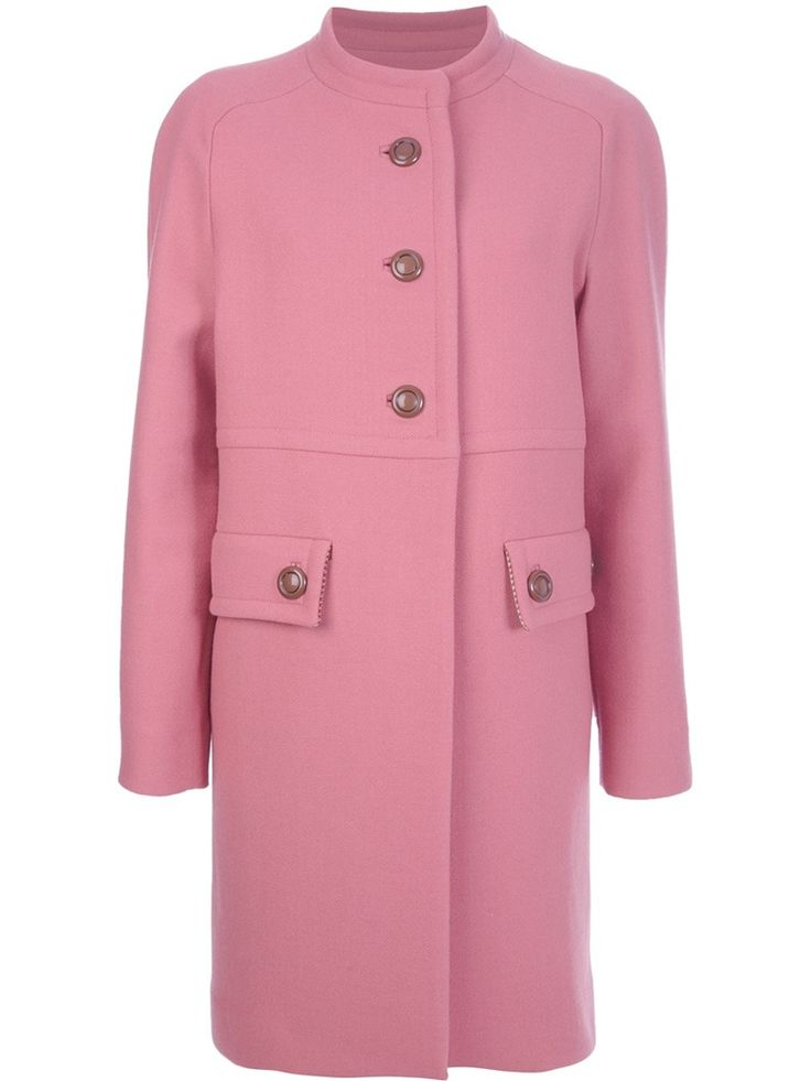 DINOU Button up coat - i may very well be narrow minded and lack vision and creativity, but i CANNOT see any good in this