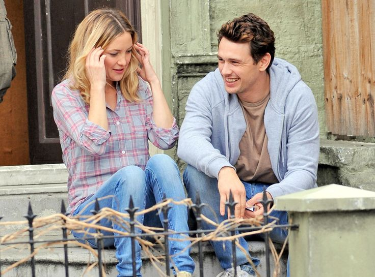 Costars Kate Hudson & James Franco shoot a scene for their upcoming film, Good People, in London. http://www.eonline.com/photos/6/the-big-picture-today-s-hot-pics/297218