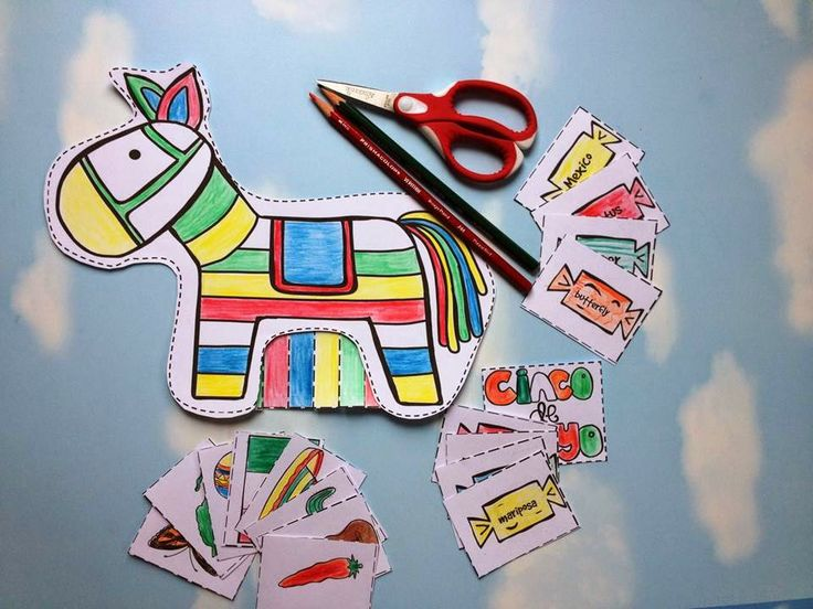 cinco de mayo craft - pinata craft.: