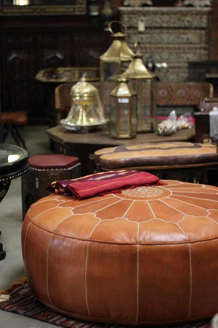 I have beenobsessing over Moroccan poufs lately. They seem to go with mostevery style. Poufs are versatile; Great for small spaces, they d...