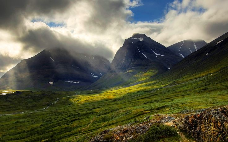 """The King's Trail,"" Sweden's Kungsleden takes the hiker through 270 miles of unspoiled European wilderness. Bonus: In the winter, the hiking trail converts into a ski trail."