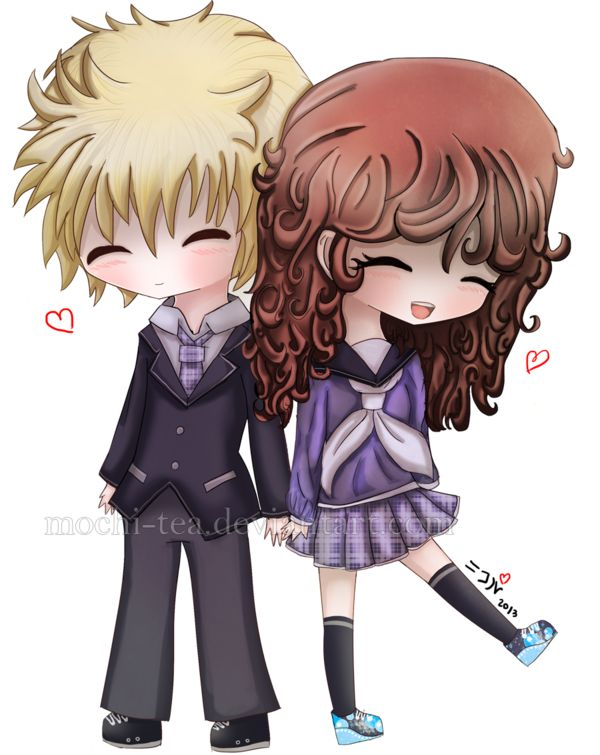 they make a good chibi couple | Chibi | Pinterest | Chibi ...