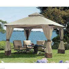 Gazebo Metal Steel Aluminum Frame Canopy Outdoor Patio Tent Wedding Party  Events