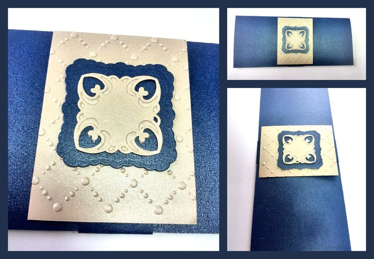 Blue greeting card by SamV