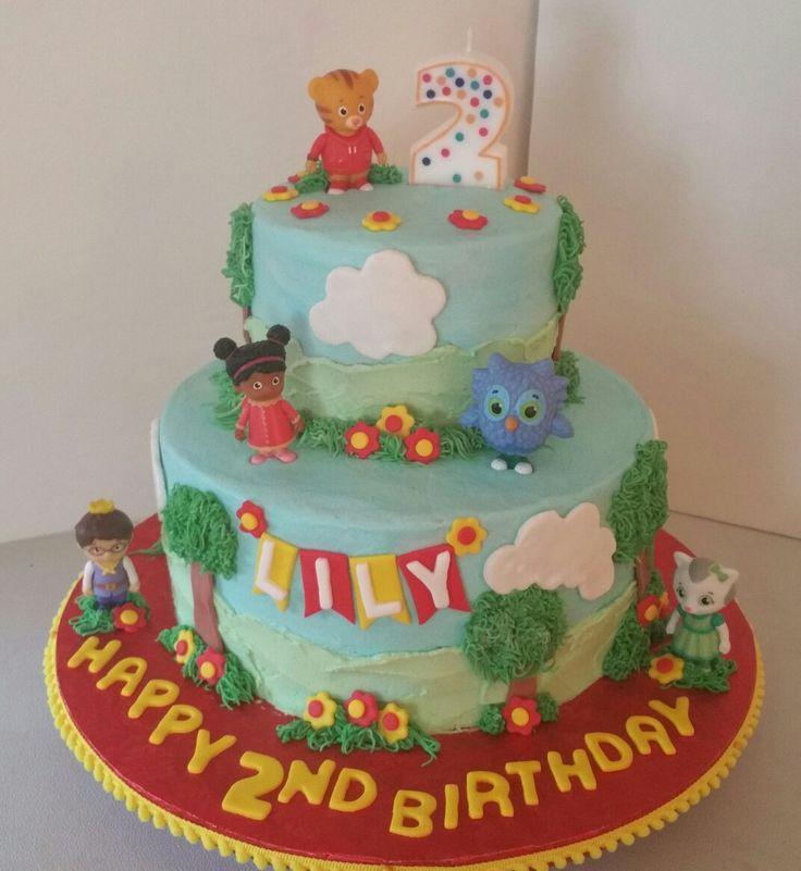 Daniel Tiger Birthday Cake                                                                                                                                                                                 More