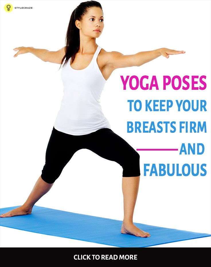 yoga asana breast
