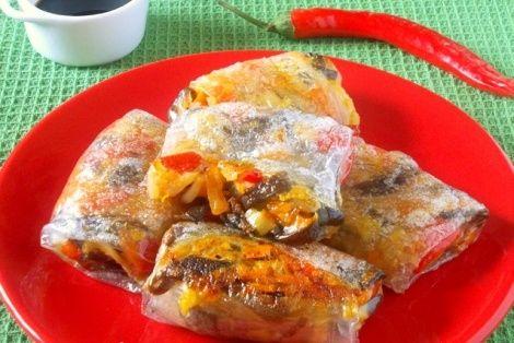 Przepis na Wietnamskie Sajgonki bardzo smaczne i zdrowe