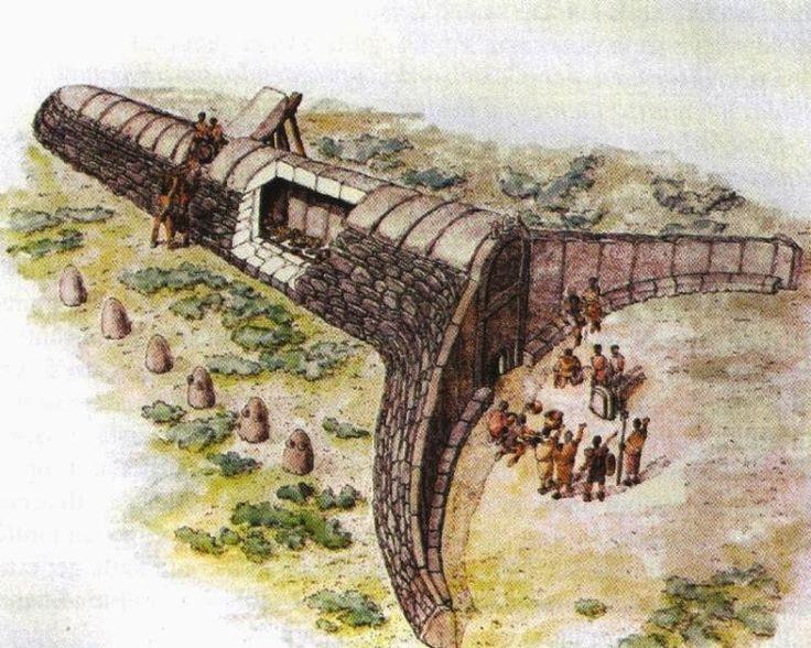 Tombe dei Giganti - ricostruzione