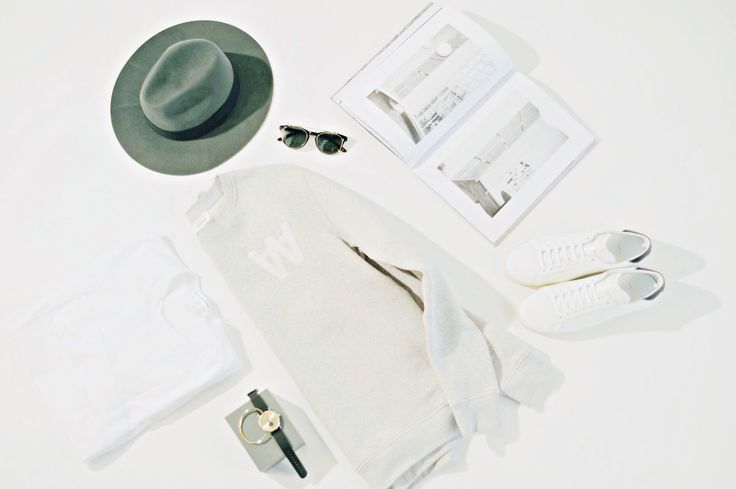 """Casual tuesday – but remember to bring a hat. This one from the cool upcoming Copenhagen based brand """"Akins"""".  College: Wood Wood–> Shop Hat: Akins Sneakers:Saint Laurent–> Shop Watch: Triwa–> Shop Bracelet: Triwa"""