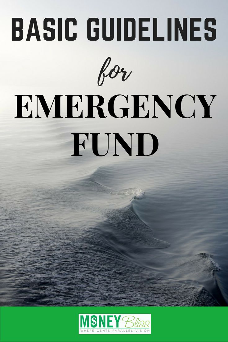 Emergency funds are the backbone of financial security. Learn how much to set aside, variables to consider, and basic guidelines for emergency fund savings. Tips. Make a plan.