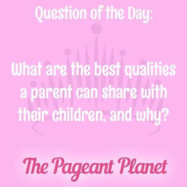Answer this as you would for pageant interview to get featured on PageantPlanet.com!