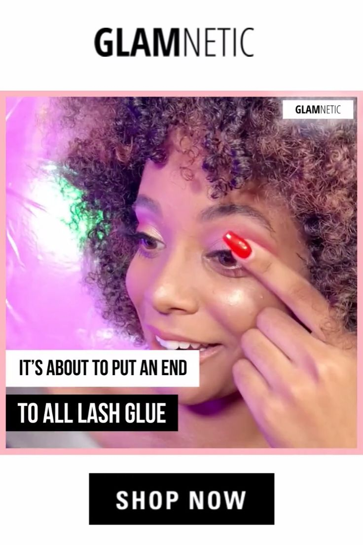 Glam lashes without Glue! Magnetic liner for Magnetic Lashes! 😱