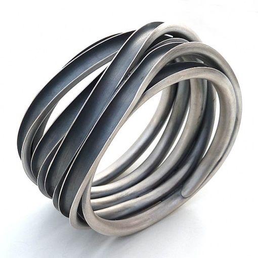galeria zero925 - biżuteria artystyczna | naszyjniki | obrączki | kolczyki | klipsy | pierścionki | bransoletki | broszki :: bransoletka