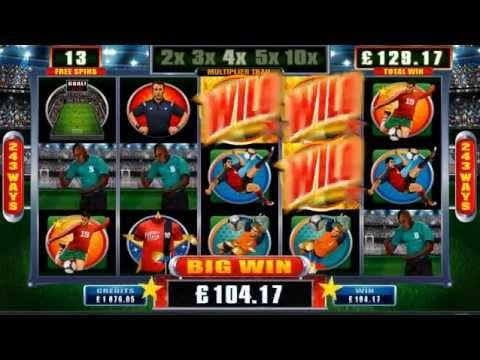 Check out this awesome NEW game, launching next week at Lucky247! FOOTBALL STARS SLOT  Plus, we've got an incredible promo with this great new game coming your way...fancy heading to Rio for the FINAL football match in July?! Keep watching our Promo page for more details!!