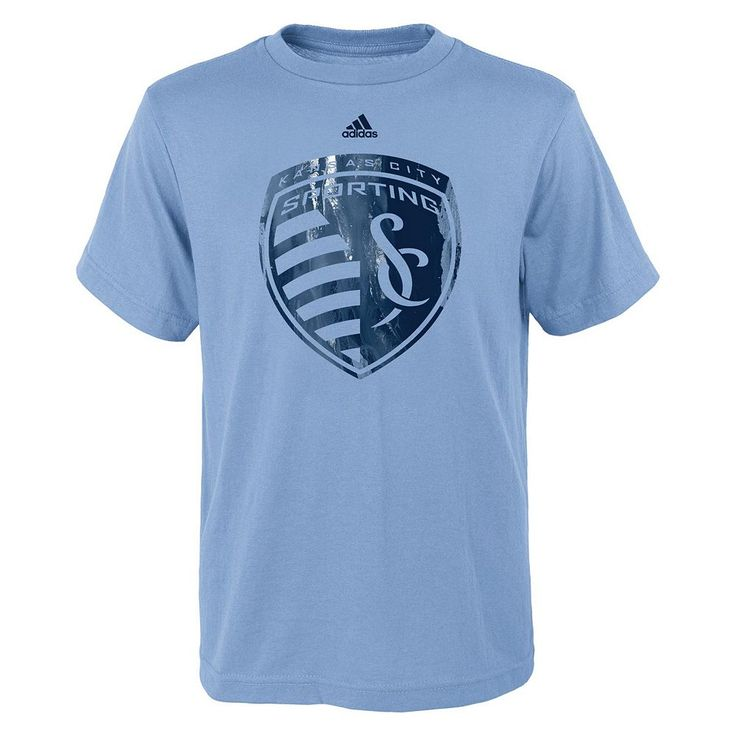 Boys 8-20 Adidas Sporting Kansas City War Paint Tee, Size: Xl(18/20), Ovrfl Oth