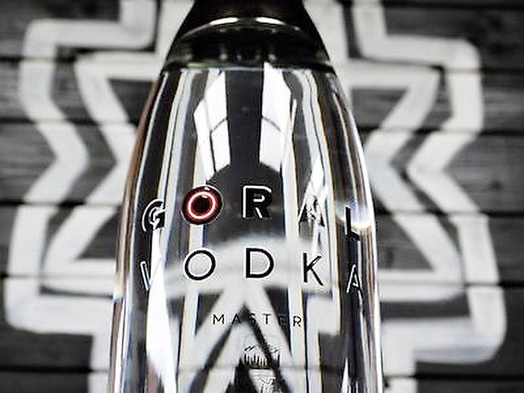 Limited edition bottle of Goral Vodka Master