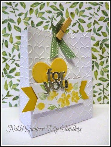 Nikki Spencer-My Sandbox: Mini Treat Bag Box with Tutorial!