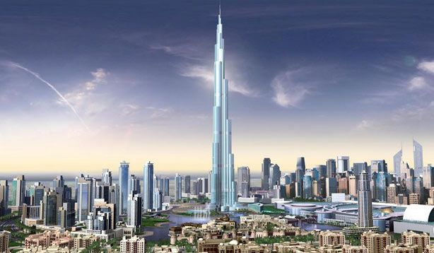 Mega Skyscraper in Dubai Touching Sky « Latest Wallpaper Images Picture Gallery
