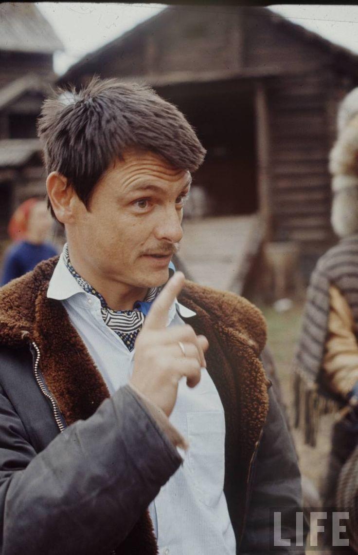 Andreï Tarkovski sur le tournage d'Andreï Roublev