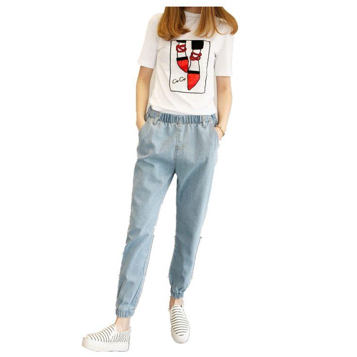 Barato 2016 Jeans Plus Size cintura alta mulheres Jeans Skinny mulheres calças Jeans Boyfriend Jeans para mulheres calças harém, Compro Qualidade Calças de brim diretamente de fornecedores da China:      2016 Jeans Mulher Plus Size Casual cintura alta Mulheres Jeans  Mulheres magras calças jeans boyfriend jeans