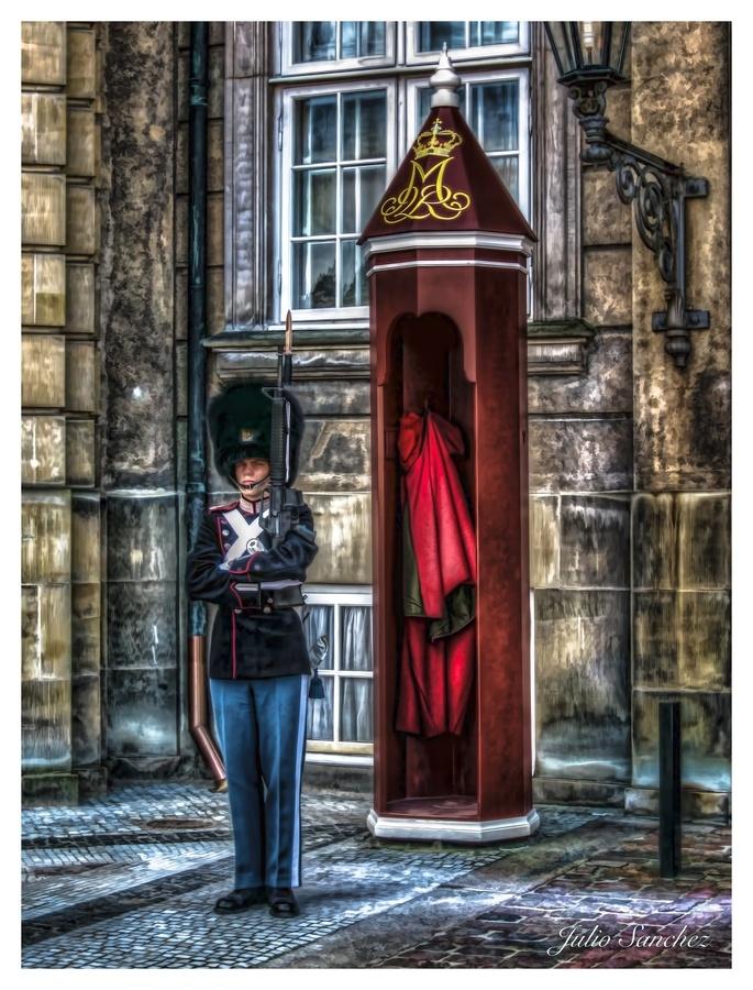 Guard at Palace